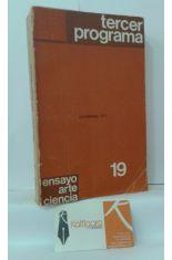 TERCER PROGRAMA. NOVIEMBRE 1972. ENSAYO, ARTE, CIENCIA 19