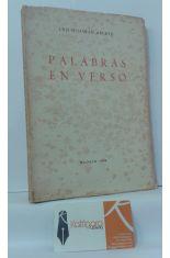 PALABRAS EN VERSO