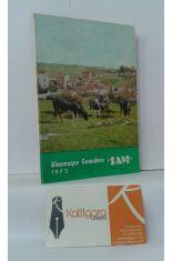 ALMANAQUE GANADERO SAM 1972