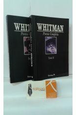 POESÍA COMPLETA DE WALT WHITMAN (2 TOMOS)