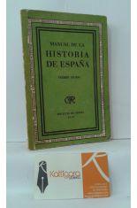 MANUAL DE HISTORIA DE ESPAÑA. PRIMER GRADO