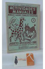 ACTIVIDADES MANUALES 3, MODELOS DE LABORES Y TRABAJOS EDUCATIVOS