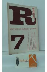 REALIDAD. REVISTA DE CULTURA Y POLÍTICA 7