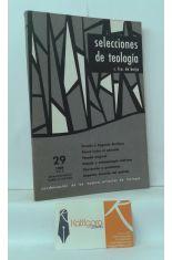 SELECCIONES DE TEOLOGÍA 29. 1969, VOL. 8
