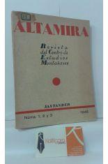 ALTAMIRA, REVISTA DEL CENTRO DE ESTUDIOS MONTAÑESES. NÚMEROS 1, 2 Y3. 1946