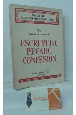 ESCRÚPULO, PECADO, CONFESIÓN