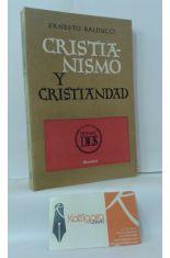 CRISTIANISMO Y CRISTIANIDAD