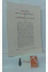 BOLETÍN DE LA BIBLIOTECA DE MENÉNDEZ PELAYO. AÑO LXXIX. ENERO-DICIEMBRE 2003