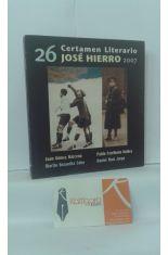 26 CERTAMEN LITERARIO JOSÉ HIERRO 2007