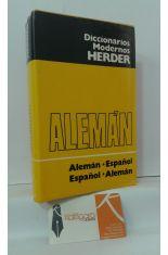 DICCIONARIO ALEMÁN-ESPAÑOL. ESPAÑOL-ALEMÁN