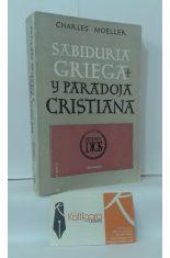 SABIDURÍA GRIEGA Y PARADOJA CRISTIANA, TESTIMONIOS LITERARIOS