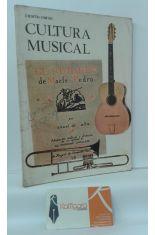 CUARTO CURSO DE CULTURA MUSICAL