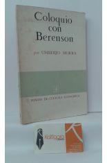 COLOQUIO CON BERENSON