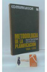 METOODOLOGÍA DE LA PLANIFICACIÓN. APORTACIONES SOVIÉTICAS 1924-1930