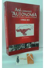 ASÍ COMENZÓ LA AUTONOMÍA. MEMORIAS DEL PRIMER GOBIERNO DE CANTABRIA 1982-1983