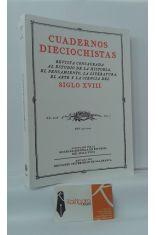 CUADERNOS DIECIOCHISTAS, AÑO 2006, VOL 7. REVISTA CONSAGRADA AL ESTUDIO DE LA HISTORIA, PENSAMIENTO, LITERATURA, ARTE Y CIENCIA DEL SIGLO XVIII