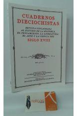 CUADERNOS DIECIOCHISTAS, AÑO 2003, VOL. 4. REVISTA CONSAGRADA AL ESTUDIO DE LA HISTORIA, PENSAMIENTO, LITERATURA, ARTE Y CIENCIA DEL SIGLO XVIII