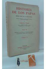 HISTORIA DE LOS PAPAS DESDE FINES DE LA EDAD MEDIA, TOMO VII, VOLUMEN XV. ÉPOCA DE LA REFORMA Y RESTAURACIÓN CATÓLICA: PÍO IV (1559-1565)