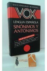 SINÓNIMOS Y ANTÓNIMOS DICCIONARIO MANUAL VOX LENGUA ESPAÑOLA
