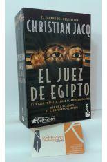 TRILOGÍA EL JUEZ DE EGIPTO (LA PIRÁMIDE ASESINADA - LA LEY DEL DESIERTO - LA JUSTICIA DEL VISIR)