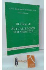 III CURSO DE ACTUALIZACIÓN TERAPÉUTICA