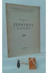 SEPARATA DE ZEPHYRVS. ESTUDIO ZOOTÉCNICO DE LAS PINTURAS RUPESTRES EN LA REGIÓN CANTÁBRICA.
