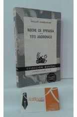 NOCHE DE EPIFANÍA - TITO ANDRÓNICO