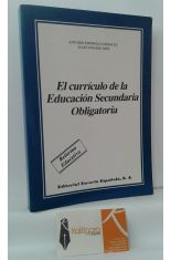 EL CURRÍCULO DE LA EDUCACIÓN SECUNDARIA OBLIGATORIA