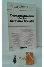 DESCENTRALIZACIÓN DE LOS SERVICIOS SOCIALES