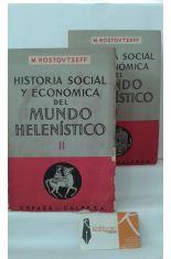 HISTORIA ECONÓMICO Y SOCIAL DEL MUNDO HELENÍSTICO (2 TOMOS)