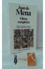 OBRAS COMPLETAS DE JUAN DE MENA