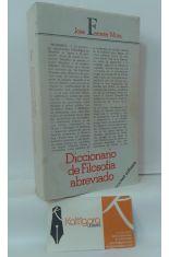 DICCIONARIO DE FILOSOFÍA ABREVIADO