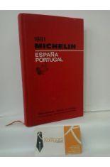 ESPAÑA - PORTUGAL 1981. MICHELÍN