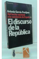 DEL HECHO NACIONAL A LA CONSCIENCIA DE ESPAÑA O EL DISCURSO DE LA REPÚBLICA