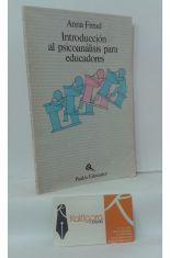 INTRODUCCIÓN AL PSICOANÁLISIS PARA EDUCADORES