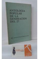 ANTOLOGÍA POPULAR DE LA GENERACIÓN DEL 27