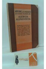 AYUDE A SU MÉDICO SI USTED PADECE DE ALERGIA ALIMENTICIA