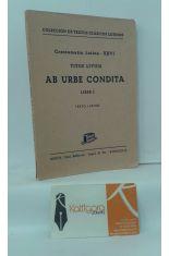 AB URBE CONDITA. LIBER I (TEXTO LATINO)