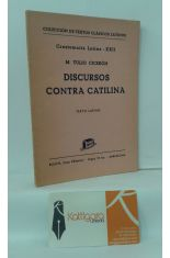 DISCURSOS CONTRA CATILINA (TEXTO LATINO)