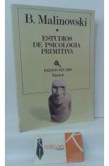 ESTUDIOS DE PSICOLOGÍA PRIMITIVA. EL COMPLEJO DE EDIPO