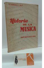 HISTORIA DE LA MÚSICA. CUARTO-QUINTO-SEXTO CURSO