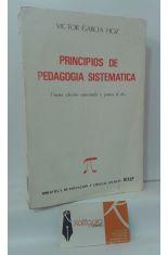 PRINCIPIOS DE PEDAGOGÍA SISTEMÁTICA