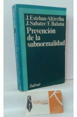 PREVENCIÓN DE LA SUBNORMALIDAD