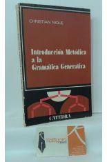 INTRODUCCIÓN METÓDICA A LA GRAMÁTICA GENERATIVA