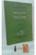 PUBLICACIONES DEL INSTITUTO DE ETNOGRAFÍA Y FOLKLORE