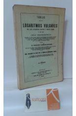 TABLAS DE LOS LOGARITMOS VULGARES DE LOS NÚMEROS DESDE 1 HASTA 20000 Y DE LAS LÍNEAS TRIGONOMÉTRICAS