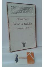 SOBRE LA RELIGIÓN, DESCRIPCIÓN Y TEORÍA