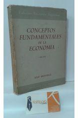 CONCEPTOS FUNDAMENTALES DE LA ECONOMÍA