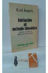 INICIACIÓN AL MÉTODO FILOSÓFICO