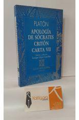 APOLOGÍA DE SÓCRATES - CRITÓN - CARTA VII